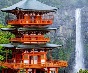 japan, nature, and travel image