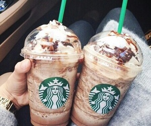 starbucks, drink, and coffee image