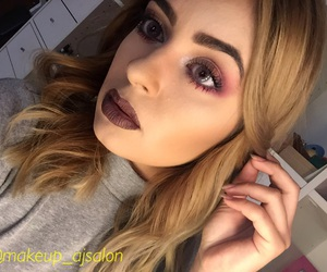 beauty, makeup, and darklips image