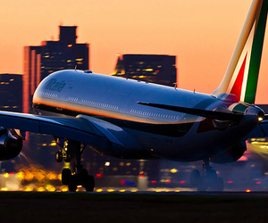 plane, luxury, and travel image