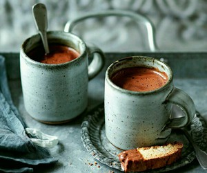 coffee, chocolate, and morning image