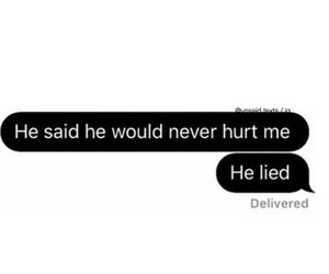 broken, hurt, and lied image
