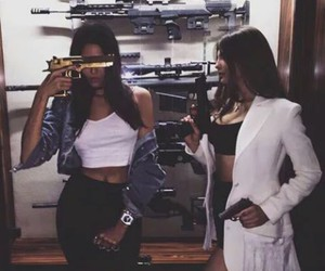 friends, gun, and goals image
