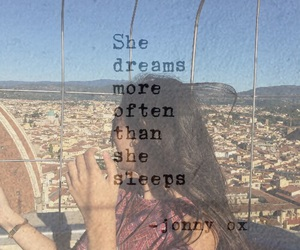 beautiful, Dream, and dreamer image