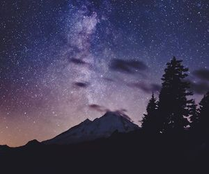 colors, mountain, and sky image