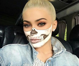 Halloween and kylie jenner image
