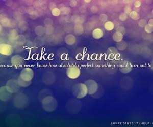 chance, chances, and life image