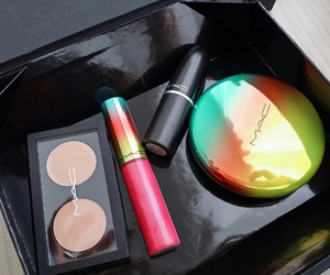 mac, lipstick, and fashion image
