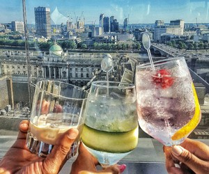 Cocktails, drinks, and fashion image