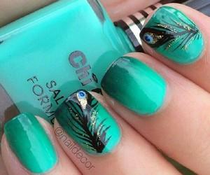 nails, art, and nail polish image