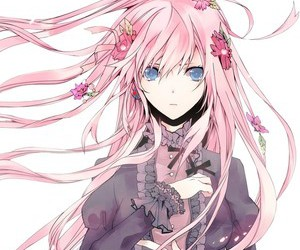 anime, vocaloid, and flowers image