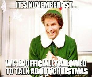 christmas, november, and elf image
