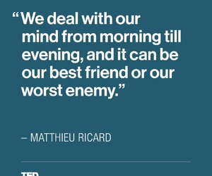 anxiety, quote, and ted talk image