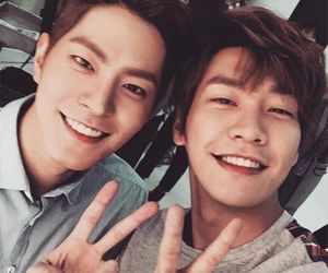 hong jong hyun and young kwang hyung image