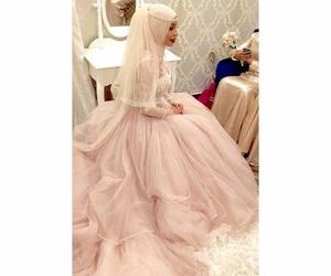 dress, luxury, and wedding image