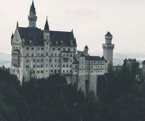 castle, germany, and grunge image