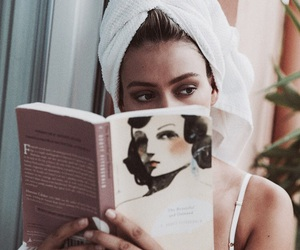 book, vogue, and beauty image