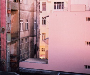 pink, building, and tumblr image