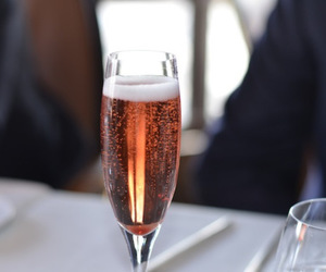 champagne and luxury image