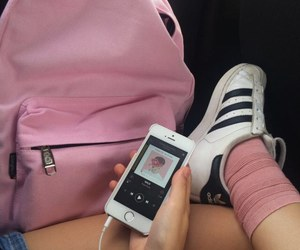adidas, apple, and pink image