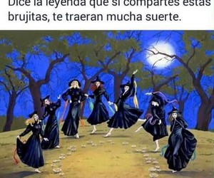 Halloween, witch, and brujas image