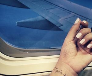 airplane, faith, and flight image