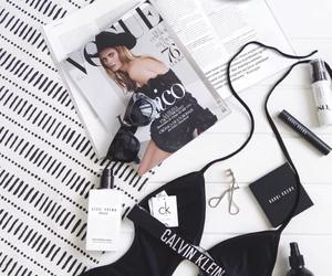magazine, makeup, and calvinklein image