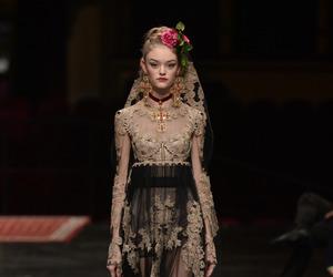 fashion, catwalk, and Dolce & Gabbana image