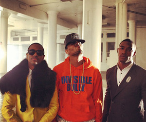chris brown, dope, and famous image