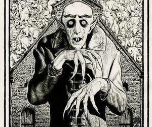 nosferatu and vampire image