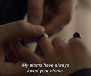 atoms, love, and message image