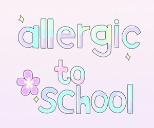 school and allergic image