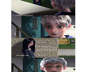 jack frost, The Incredibles, and violet parr image