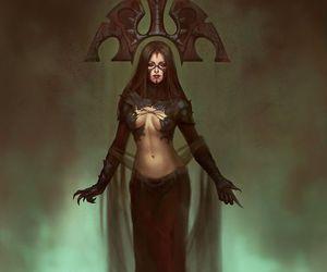 fantasy, witch, and tatiana vetrova image
