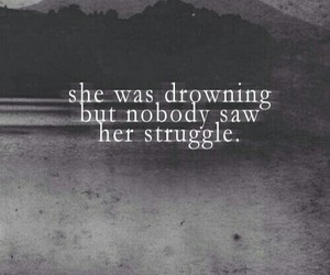 quotes, sad, and struggle image