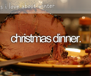 christmas, dinner, and winter image