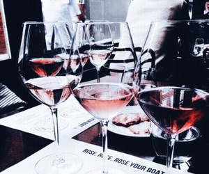 drink, wine, and red image