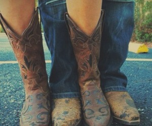 boots, countryside, and cute image