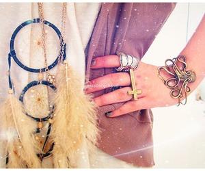 fashion, bracelet, and ring image