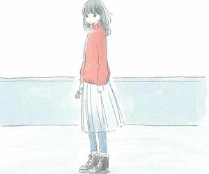 anime girl and itukai image