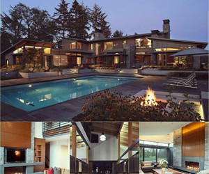 house, luxury, and mansions image