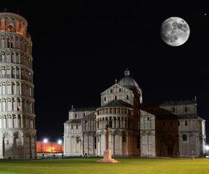 leaning tower of pisa, pisa italy, and the tower of pisa image