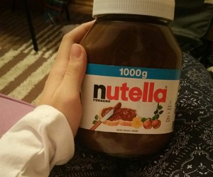 nutella, sweet, and chocolate+ image