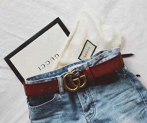 gucci, fashion, and jeans image