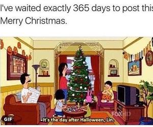 christmas, Halloween, and meme image