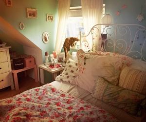 cat, decor, and decoration image