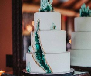 cake, rock, and wedding cake image
