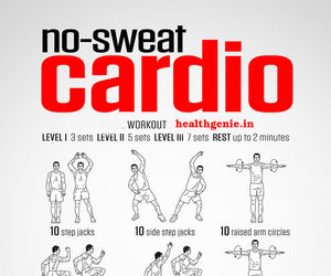 cardio, exercise, and fitness image