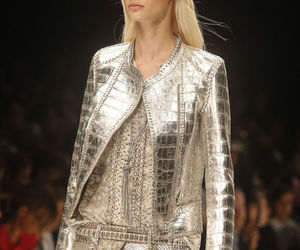 beauty, runway, and silver image