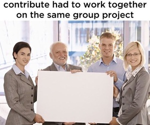 lol, true, and group project image